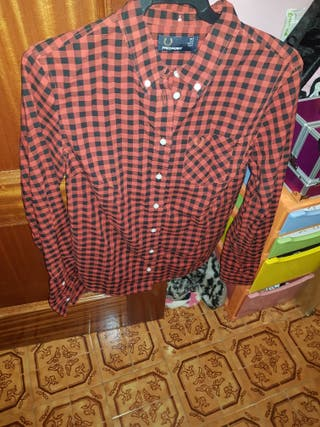 Camisa Fred Perry cuadros 36