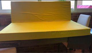 Respaldo y asiento para sofá palet