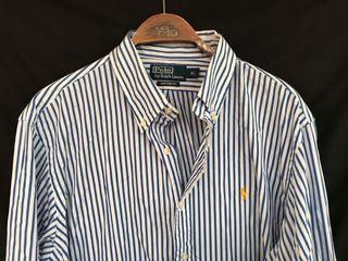 POLO RALPH LAUREN Camisa rayas talla XL