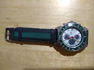 Reloj cuarzo SECTOR correa verde y negra
