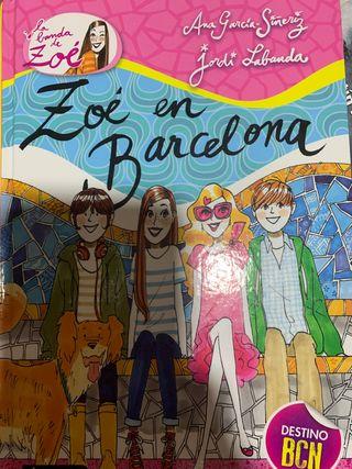 libro Zoé en Barcelona