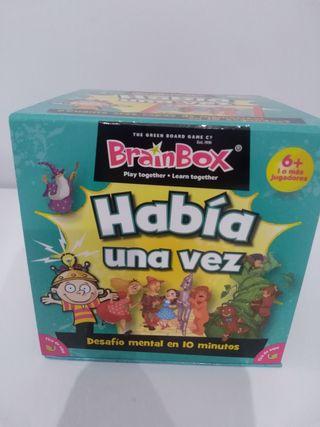 brain box Había una vez juego