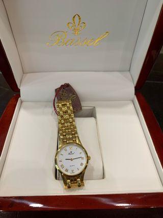 Reloj mujer de Oro Bassel nuevo