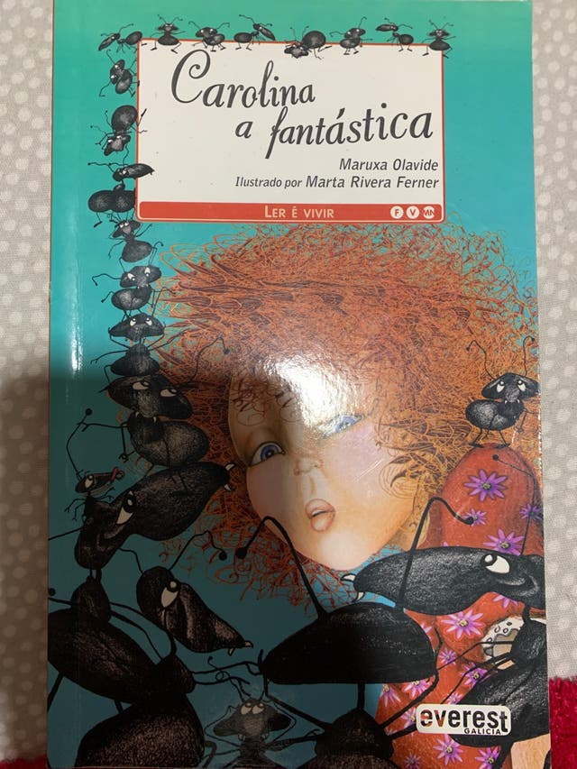 libro infantil Carolina a fantástica