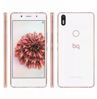 BQ Aquaris X5 plus rosa