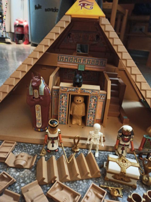 pirámide Egipto egipcio Playmobil