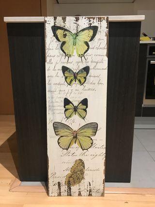 Quadre decoració papallona