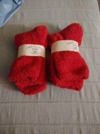 Calcetines unisex calentitos.