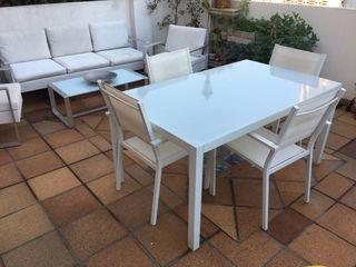 Juego de muebles de terraza o jardín
