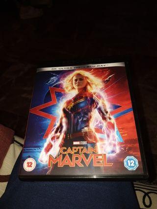 Película Captain Marvel 4k