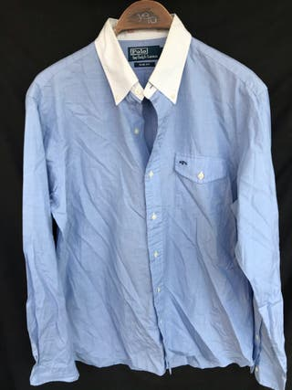 POLO RALPH LAUREN Camisa azul cielo talla M