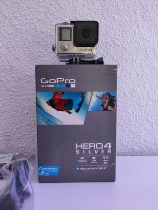 GoPro HERO 4 Silver (20h uso)