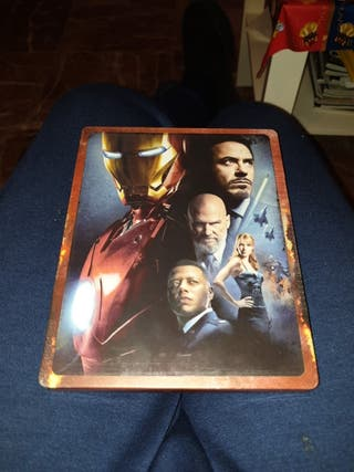 Película Iron Man Steelbook 4k