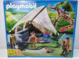 Playmobil 4843 Campamento Exploradores