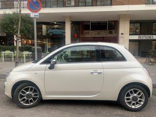 Fiat 500 2008 Automatico color perla asientos piel