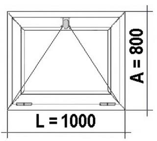 VENTANA PVC 1000x800 golpete