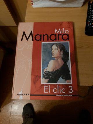 Libros MILO MANARA EL CLIC para adultos