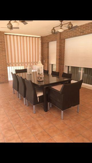 Muebles de jardin o terraza alta calidas