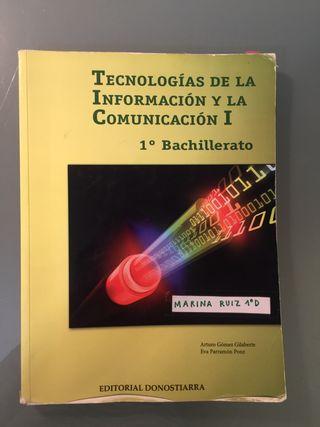 Libro de TICO 1 BACHILLERATO