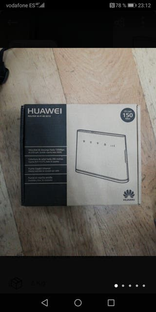 router 4g lte Huawei b310