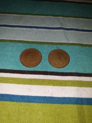 1 peseta franco