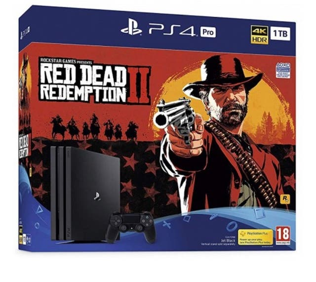PS4 Pro 1TB - Red Dead Redemption 2 model
