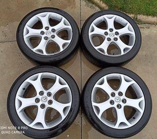 Llantas aluminio Mazda R17