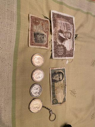 Colección pesetas antiguas