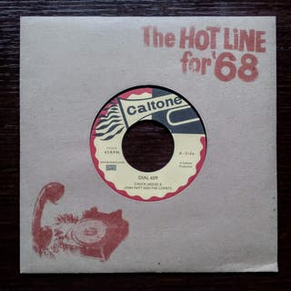 "Chuck Jacques, Lynn Taitt And The Comets - 7"""