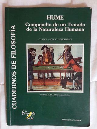 libro. hume. compendio naturaleza humana