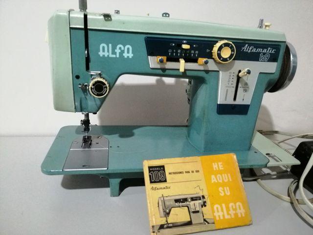 MÁQUINA DE COSER ALFAMATIC 109 de segunda mano por 85 € en