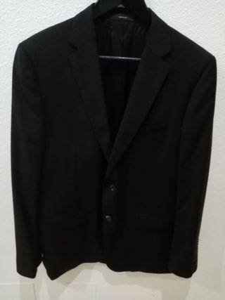 Traje de chaqueta negro Massimo Dutti
