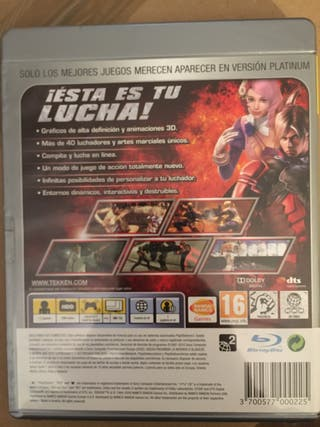 PS3 Videojuego TEKKEN 6