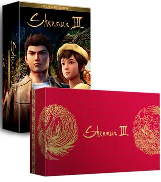 Shenmue 3, edicion coleccionista Ps4, Limited Run