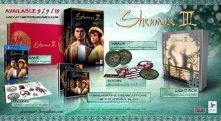 Shenmue 3, edicion coleccionista Ps4, Limited Run