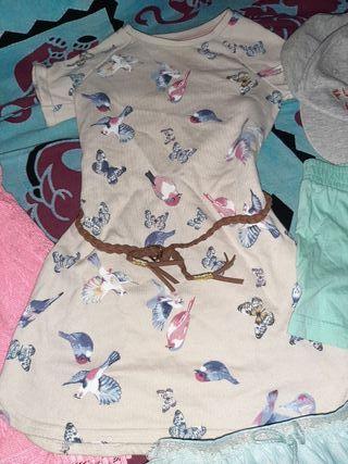 Lote ropa 2-4 años niña verano + cazos + lote ropa