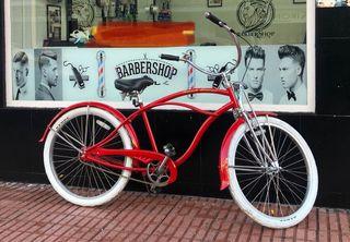 Bicicleta beach cruiser americana