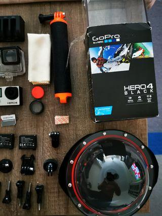 GoPro Hero 4 Black + Muchos extras