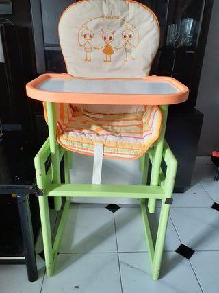 silla para comer de bb
