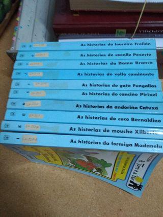 10 libros Colección A Torre e a flor