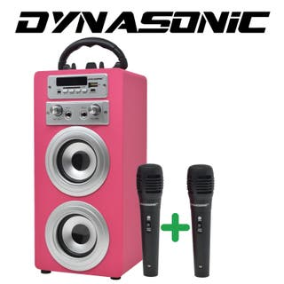 Altavoz karaoke dos micrófonos Pack ENVIO INCLUIDO