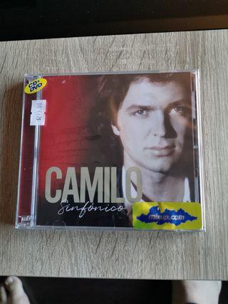disco cd/DVD camilo sesto sinfonico México. Nuevo.
