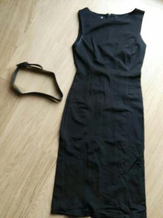 vestido negro tienda Blanco