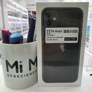 Iphone 11 64GB Black Negro Nuevo Precintado