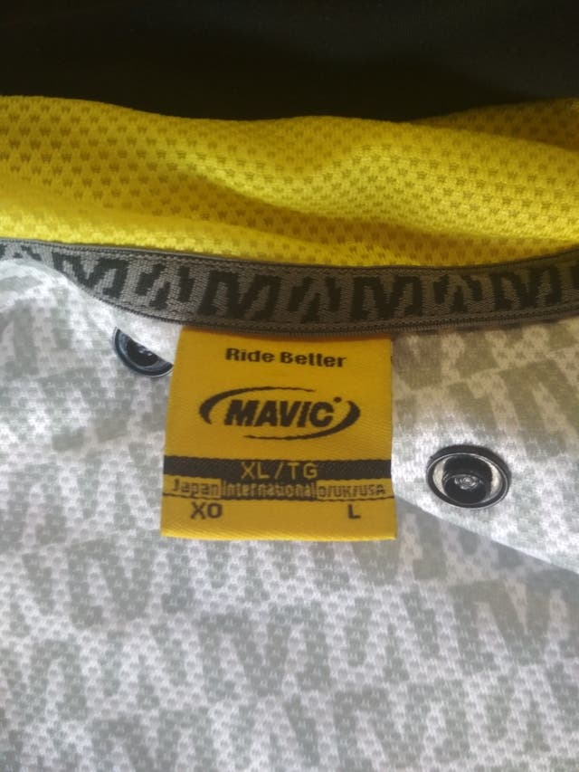 Chaqueta MAVIC Primaloft talla XL.