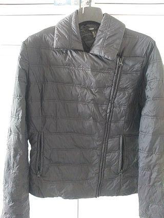 chaqueta de plumas de mango talla S