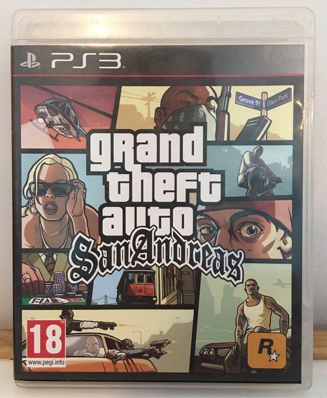 GTA SAN ANDREAS (PS3)