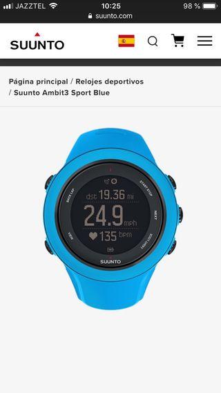 Reloj deportivo suunto ambit3 sport