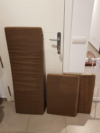 Acolchado de muebles de jardín
