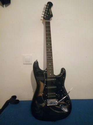 vendo guitarra electrics + accesorios